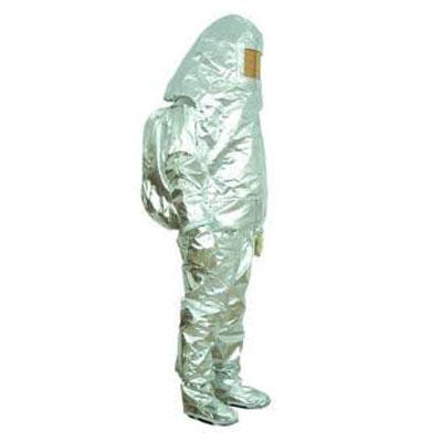 PROTEL ALUSTAR a aluminized para-aramid promixity suit