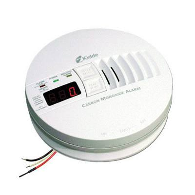 Kidde Fire Systems KN-COP-IC AC Hardwired Operated Carbon Monoxide Alarm with Digital Display