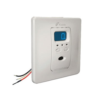 Kidde Fire Systems KN-COPF-I Silhouette™ AC Hardwired Operated Carbon Monoxide Alarm with Digital Display