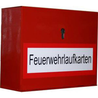 508000 Fire brigade routing card box A4 for profile cylinder