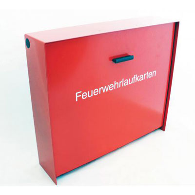 508050 Fire brigade routing card box A4-E