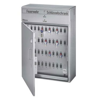 545002 Fire Brigade KeyCupboard customized for fire brigades
