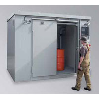 Lacont Umwelttechnik BSC 3-CL fire protection container