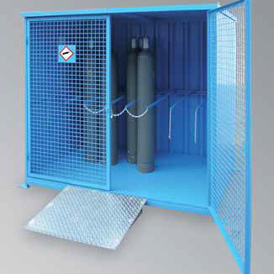 Lacont Umwelttechnik FCG 8.11 cages for gas cylinder cabinets