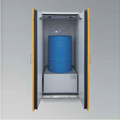 Lacont Umwelttechnik SiS-FAS Type 90 / 900-EW hazardous substances drum cabinet
