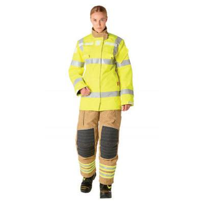 Bristol Uniforms LELR/A_UT4HV mid-layer coat (female) for full structural firefighting protection