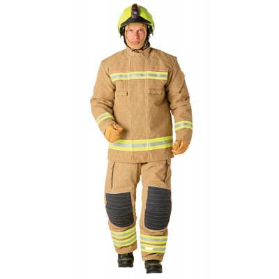 Bristol Uniforms ELX/A_PR2YG top-layer coat (male) for full structural firefighting protection