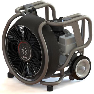 Leader ESX 230 electric blower fan 36 000 m3/h for explosive atmospheres
