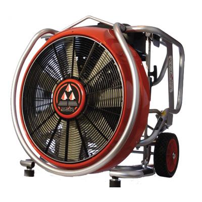 Leader MT296 petrol driven ventilator