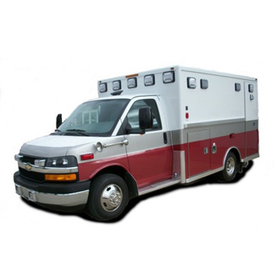 Life Line Emergency Vehicles Paraliner 147-inch body length ambulance