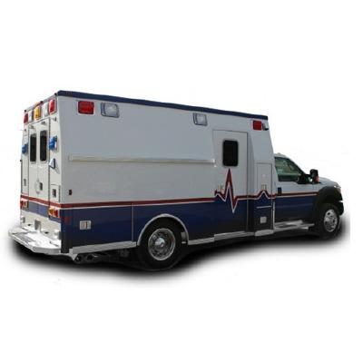 Life Line Emergency Vehicles Slant Side time saving ambulance