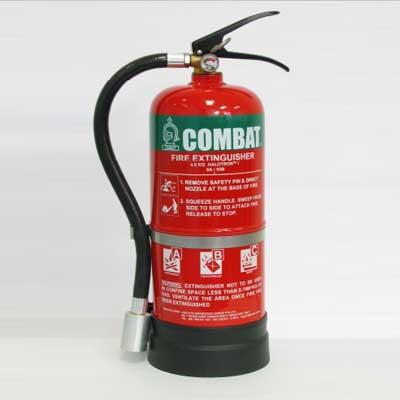 Lingjack Engineering C-4HSE 4 KG halotron stored pressure fire extinguisher