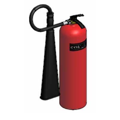 Lingjack Engineering C-5CSEC CO2 stored pressure fire extinguisher