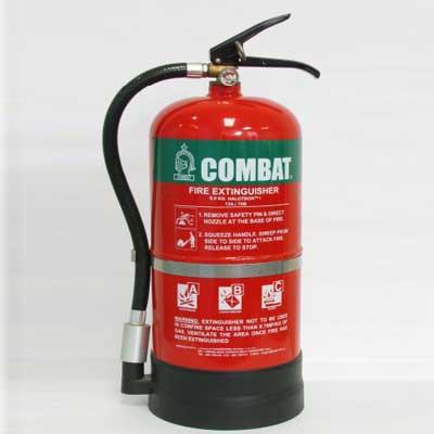 Lingjack Engineering C-6HSE 6KG Halotron stored pressure fire extinguisher