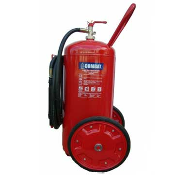 Lingjack Engineering C-75ATP 75KG ABC powder stored pressure trolley fire extinguisher