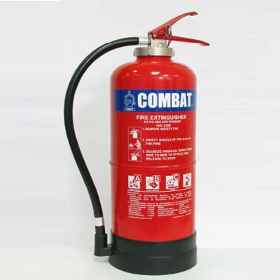Lingjack Engineering C-9PKCE purple K dry chemical powder cartridge fire extinguisher