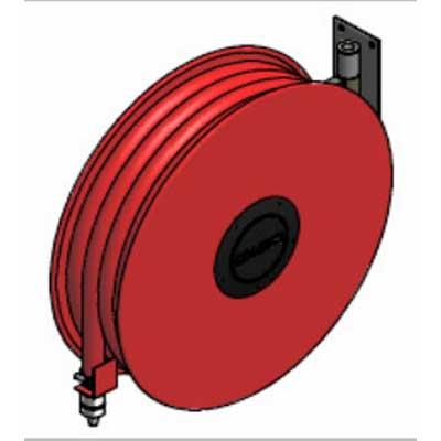 Lingjack Engineering HR-1MS manual swing slim hose reel