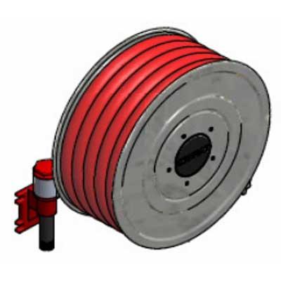 Lingjack Engineering HR-1SWS universal swing hose reel