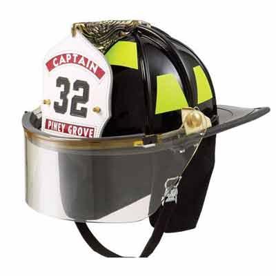 Lion Apparel American Classic  fiberglass fire helmet