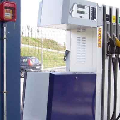 LPG Tecnicas es Extinction 606KIT31 extinguishes fire automatically