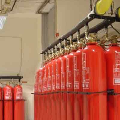 LPG Tecnicas es Extinction CC705FE130 high pressure clean  extinguishing system