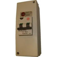 Ludo McGurk Transport Equipment RCBO-10 combined RCD and breaker