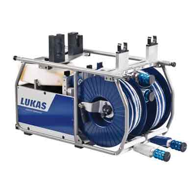 LUKAS P 650 4E - DHR20 double hose reel