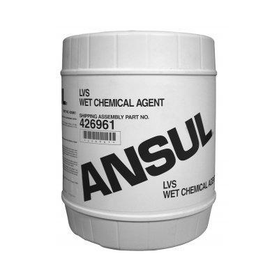 Ansul 426961 LVS Wet Chemical Agent, 5 gal (18.9 L) Pail