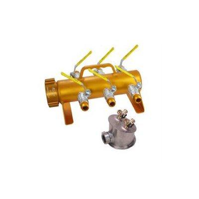 "Kochek MAN-2 High Pressure Multi Manifold 2 1/2"" NH SW RL F x (6) GHT M"