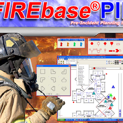 Mapping Solutions FIREbasePIP pre-incident planning software