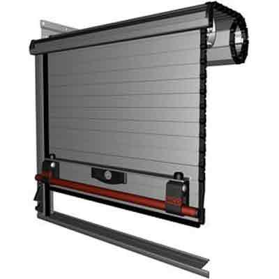 MCD ALU30 Izy aluminium roll-up door