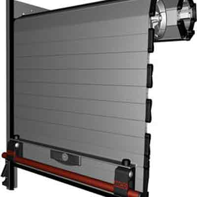 MCD ALU40 front roll compatible closing system