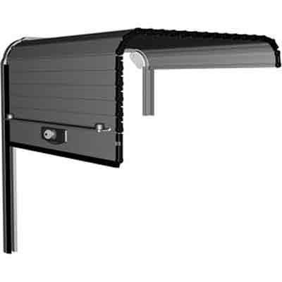 MCD ALUCOFFRE roller assistance aluminium door