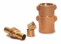 Mercedes Textiles 5510GHT16H brass coupling