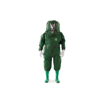 Microgard Microchem 4000 Apollo protective suit designed for SCBA