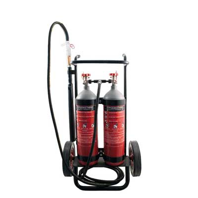 Mobiak KX11-536-A0D CO2 trolley fire extinguisher