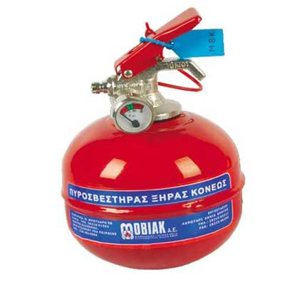 Mobiak KX11-DP-CYL02-REAO table fire extinguisher