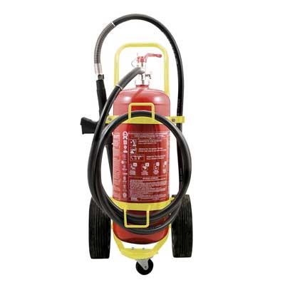 Mobiak MBK03-500AF-W1B 50 litre foam trolley fire extinguisher
