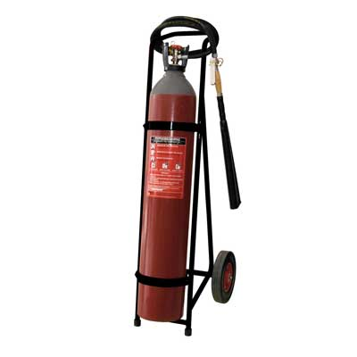 Mobiak MBK06-100CA-P1A CO2 trolley fire extinguisher