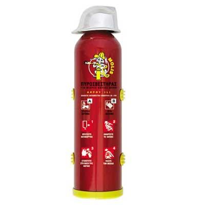 Mobiak MBK07-010ARF-P1A 1litre aerosol type fire extinguisher
