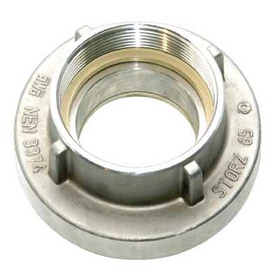 Mobiak MBK07-DIN-ST2F certified aluminum storz coupling