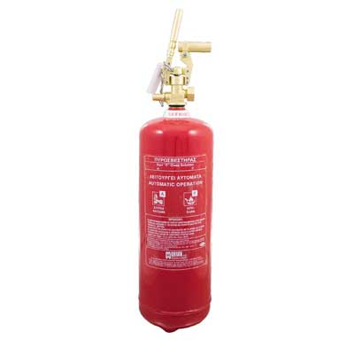 Mobiak MBK09-090FCS-L1C 9 liter F class wet chemical fire extinguisher
