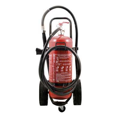 Mobiak MBK09-250PA-H1B 25kg dry powder trolley fire extinguisher