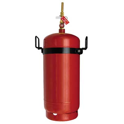 Mobiak MBK10-200FCS-L1C F class solution wet chemical fire extinguisher
