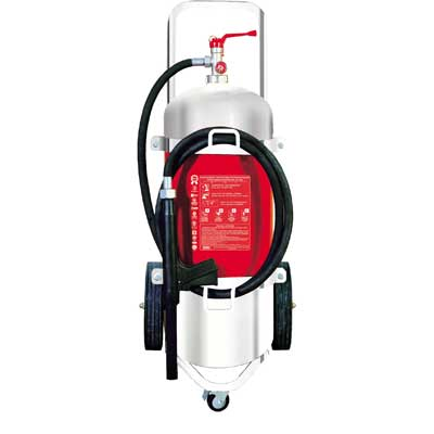 Mobiak MBK10-250PA-H1SS 25kg stainless steel dry powder fire extinguisher