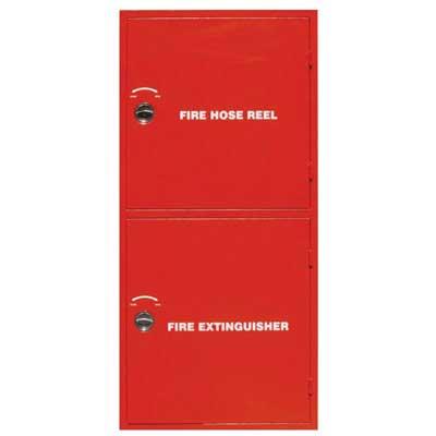 Mobiak MBK10-SJC-09A double compartment fire hose cabinet
