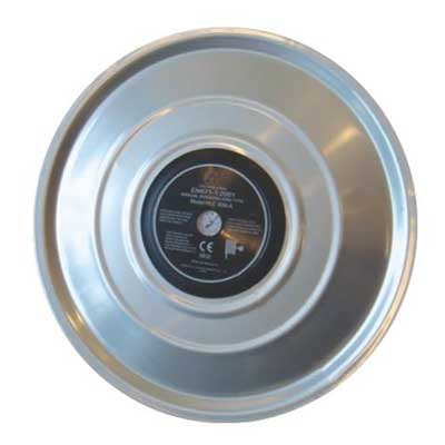 Mobiak MBK10-SJR-05B wall mounted stainless steel automatic swinging hose reel