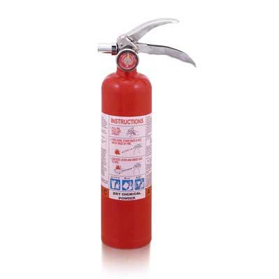 Mobiak MBK12-2.5PA-UL 2.5lb dry powder fire extinguisher