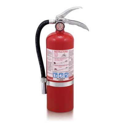 Mobiak MBK12-5PA-UL 5lb dry powder fire extinguisher