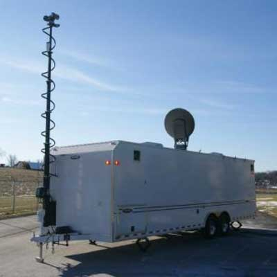Mobile Concepts Command-4WS-FEMA Type 3 Upfit  28 foot trailer